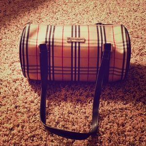 Burberry Blue Label Barrel Bag